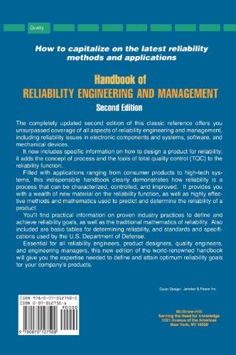 reliability engineering handbook kececioglu