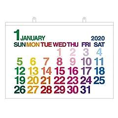 エトランジェディコスタリカ 2020年 カレンダー 壁掛け A1 ホワイト カラー CLC-A1-01