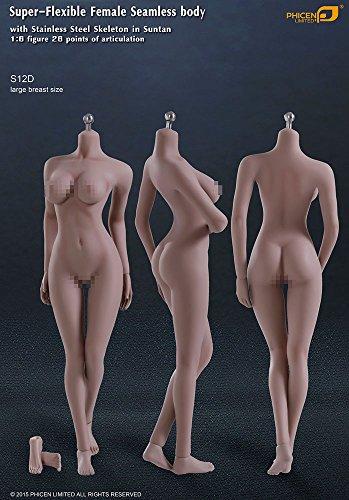 ファイセン・リミテッド 1/6スケール 超柔軟性シームレス女性素体 サンタンシリーズ バストサイズL(S12D)
