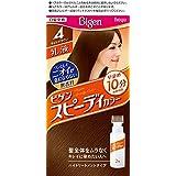 ホーユー ビゲン スピィーディーカラー 乳液 4 (ライトブラウン) 1剤40g+2剤60mL