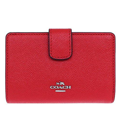 [コーチ] COACH 財布 (二つ折り財布) F54010 ブライトレッド SVBRD レザー 二つ折り財布 レディース [アウトレット品] [並行輸入品]