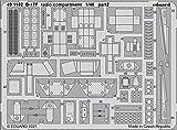 エデュアルド 1/48 B-17F 無線室内装 エッチングパーツ (HKモデル用) プラモデル用パーツ EDU491182
