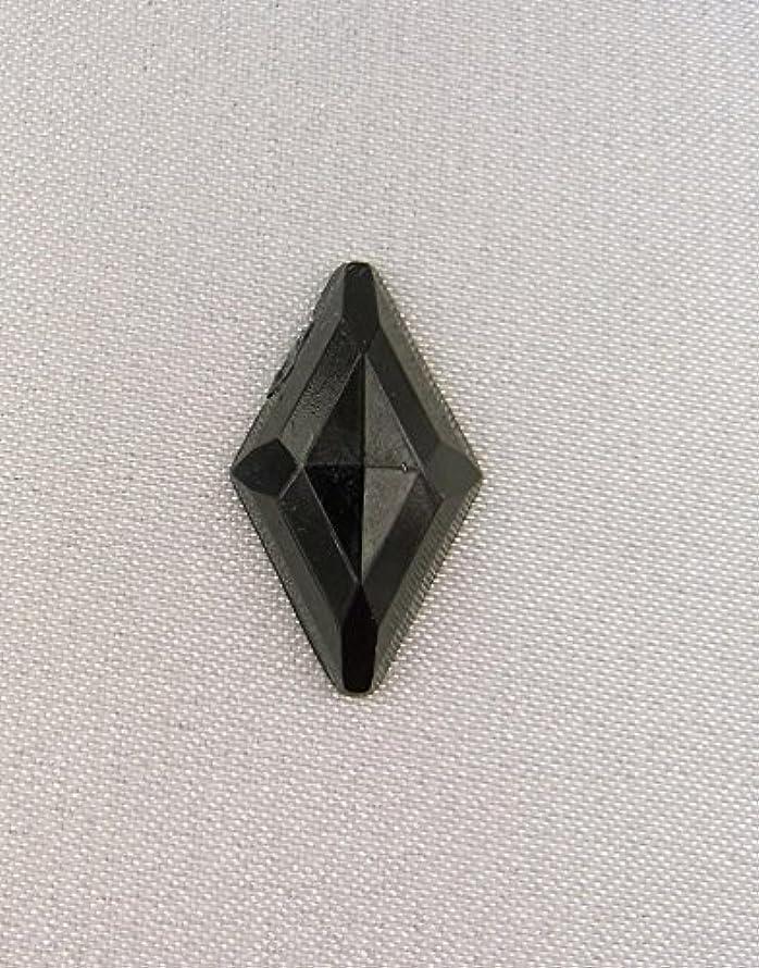 モンキーマトリックス終了する【アクリルストーン】 ST-hc-BL01 11x18㎜ (黒) 30個 アクリルラインストーン