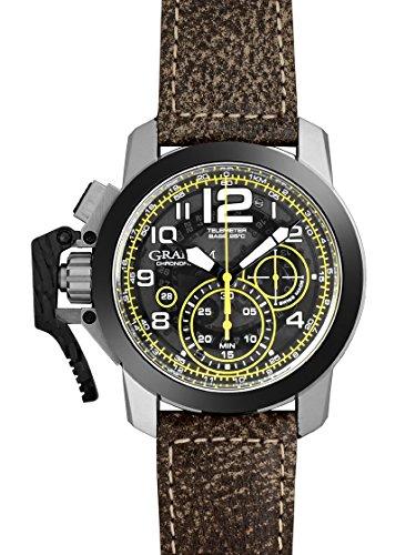 [グラハム] GRAHAM 腕時計 2CCAC.B16A.L43S クロノファイター オーバーサイズ ターゲット 自動巻き 新品 [並行輸入品]
