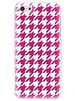 アイフォン6プラス ケース カバー iPhone6Plus Apple 千鳥格子 ラグジーイニシャルN