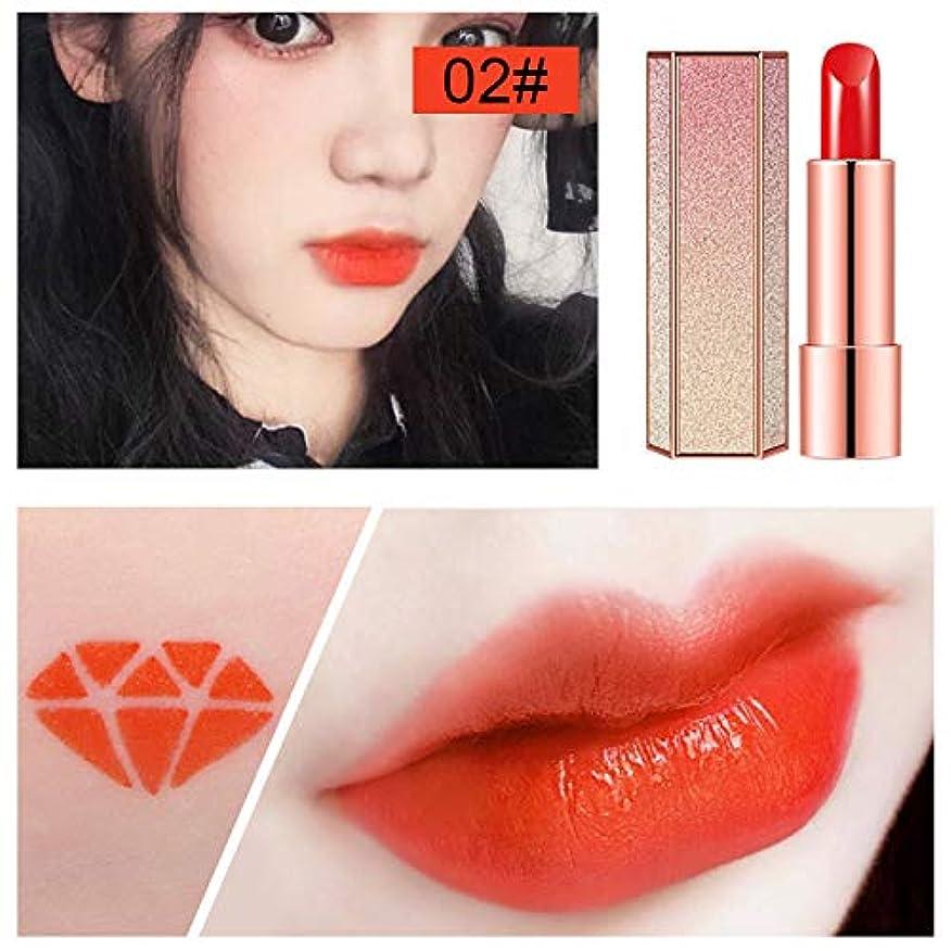 Symboat 1本 口紅 星空 保湿 化 粧品 女性 立体 人気 口紅 リップスティック リップバーム リップ 落ちにくい 韓国風 焦げ付き防止 長持ち 恋する唇 携帯便利
