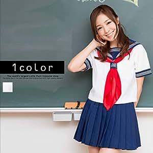 萌えセーラー costume231コスプレ コスチューム衣装 メイド AKBアキバ 女子高生 セーラー服 m