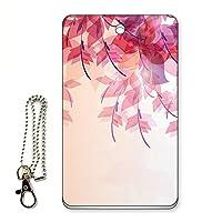 ICカード用パスケース 定期入れ ロマンティック フローラル/ピンク