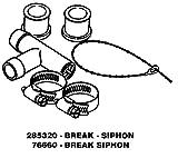 Kenmore 76660座金Siphon Break