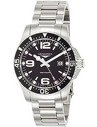 [ロンジン]LONGINES 腕時計 ハイドロコンクエスト クォーツ L3.730.4.56.6 メンズ 【正規輸入品】