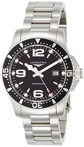 [ロンジン] 腕時計 ハイドロコンクエスト クォーツ L3.730.4.56.6 メンズ 正規輸入品 シルバー