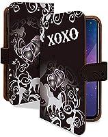 [KEIO ブランド 正規品] iPhone6plus ケース 手帳型 ネコ iPhone 6 PLUS 手帳型ケース ねこ iPhone6plus 猫 アイフォン ケース アイフォーン ケース アイフォン6プラス ケース IPHONE6 ケース アイホン6plus ハート 猫柄 ネコ ittnXOXOブラックt0030
