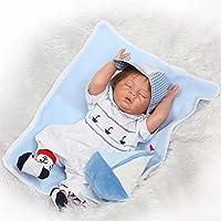 20インチハンドメイドフルボディSiliconeビニールRebornベビー人形Realistic新生児赤ちゃん少年Playmate Toys