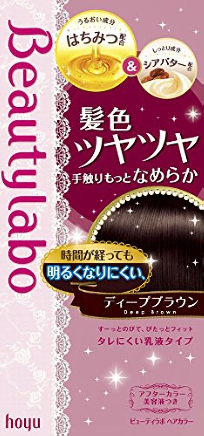ご注意マイルストーン腐食するホーユー ビューティラボ ヘアカラー (ディープブラウン) 40g+80mL+美容液5mL