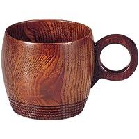 尾崎商店 和食器 『木製コーヒーカップ』 ライン 拭漆