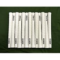13 Pure p2ラップゴルフグリップ – ジャンボ – ホワイト – Includes Bramptonグリップキット
