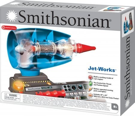 【並行輸入品】Smithsonian Jet Works Working Jet Engine Model