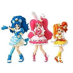 キラキラ☆プリキュアアラモード キューティーフィギュア (3種セット×1個入) 食玩・ガム(キラキラ☆プリキュアアラモード)