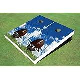 Football Feild GoalテーマCorn穴?ボードCornhole Game Set