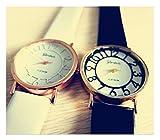 ペア時計 白×黒 2本セット ユニセックス メンズ レディース