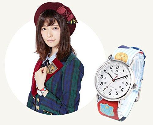 AKB48 10周年記念 島崎 遥香モデル 永遠プレッシャーデザイン*ベルト2本セット* -