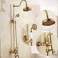 シャワー蛇口高級シャワーシステムスイッチ多層電気メッキプロセスシャワーヘッド壁掛けシャワーシステム