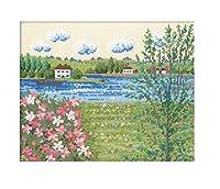 オリムパス 7362 ししゅうキット セーヌ河の春(フランス) 【人気 おすすめ 通販パーク】