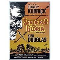 パスのGlory – Framedスペイン語映画ポスター/印刷(サイズ: 27