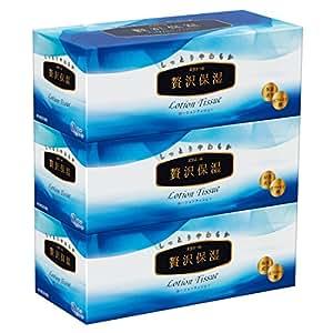 エリエール 贅沢保湿 200組400枚×3箱入り パルプ100%