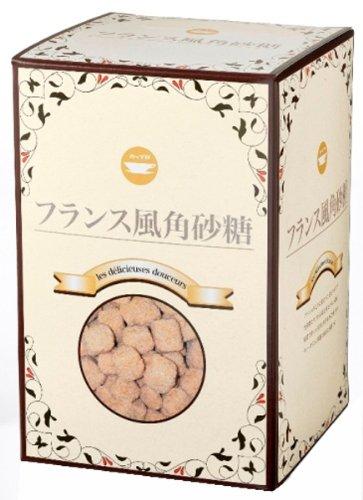 フランス風角砂糖 (ブラウン) 箱 1kg
