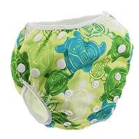 55be25cdf76e79 D DOLITY ベビー水着 男の子 女の子 水遊び用パンツ スイミングパンツ 調整可能 全8種類
