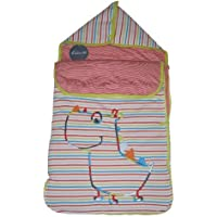 BABY SNUGGLE WRAP SLEEPBAG HOODED 0-6 MONTHS by U.T