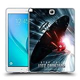 オフィシャルStar Trek スターシップ・ワープチェイス ポスターズ・イントゥー・ダークネス XII ソフトジェルケース Samsung Galaxy Tab A 9.7
