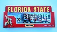 Matchbox 1997 FLORIDA STATE SEMINOLES Tractor Trailer Truck in 1:87 Scale Diecast