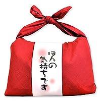 令和元年産 お米ギフト バンダナ包み (ほんの気持ちです×赤) 新潟県産 魚沼産コシヒカリ 白米 600g(300g×2袋入) 令和元年産