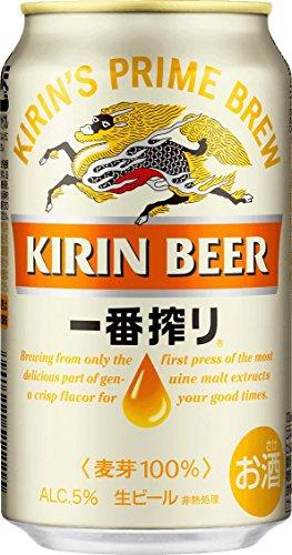 【2017年リニューアル】 新・キリン 一番搾り 350ml×24本