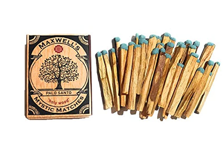記者強化通行料金Palo Santo Incense Matches