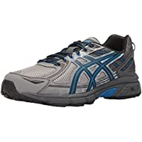 ASICS Men's GEL Venture 6 Shoe Aluminium/Black/Directoire Blue