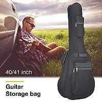 Ming-Dian アコースティックギターバッグ防水ギターケースギグバッグダブルストラップスポンジ40/41インチ