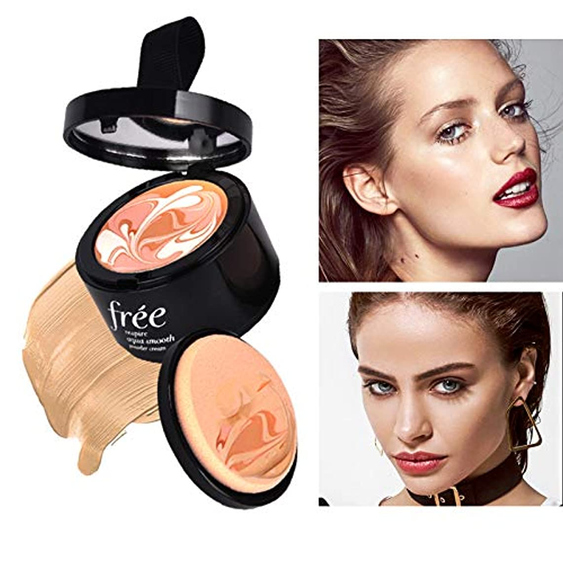 ばかげた大いにブラシFoundation Cream Concealer moisturizing Whitening flawless makeup For Face Beauty Base Makeup ファンデーションクリームコンシーラーモイスチャライジングホワイトニングフェイシャルメイクアップフェイシャルビューティベースメイクアップ