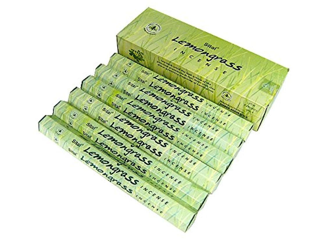 証明分析的サンダーSITAL(シタル) シタル レモングラス香 スティック LEMONGRASS 6箱セット