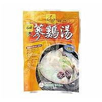 [1301] マニカ 参鶏湯 サムゲタン 韓国料理 鶏肉 スープ レトルト パウチ 800g [並行輸入品]