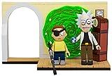 McFarlane Toys - Evil Rick & Morty Small Construction Set