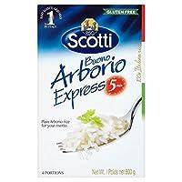 (Riso Scotti) Arborio米500グラムを表現 (x6) - Riso Scotti Express Arborio Rice 500g (Pack of 6) [並行輸入品]