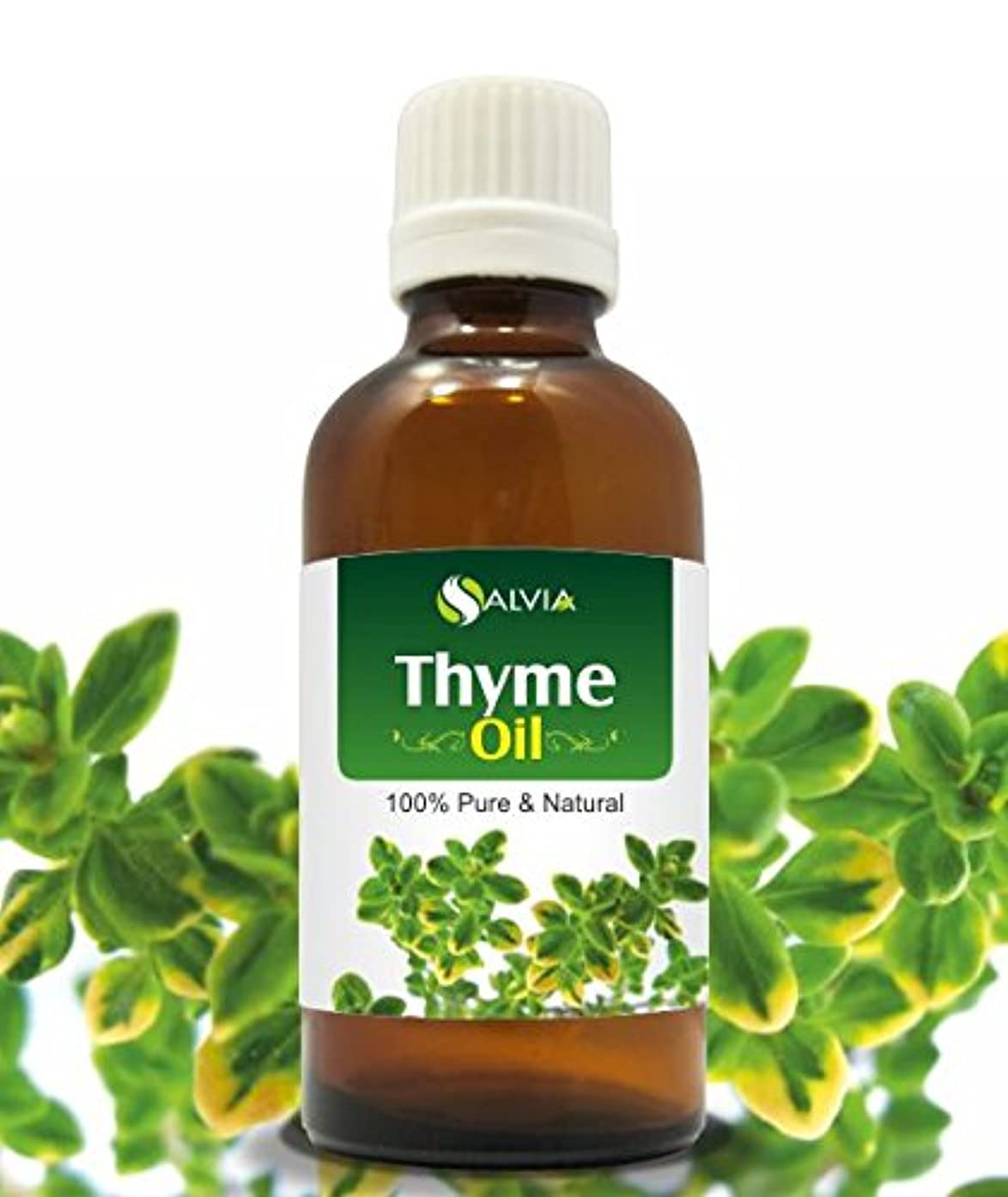 マーキー援助教室THYME OIL 100% NATURAL PURE UNDILUTED UNCUT ESSENTIAL OIL 15ML