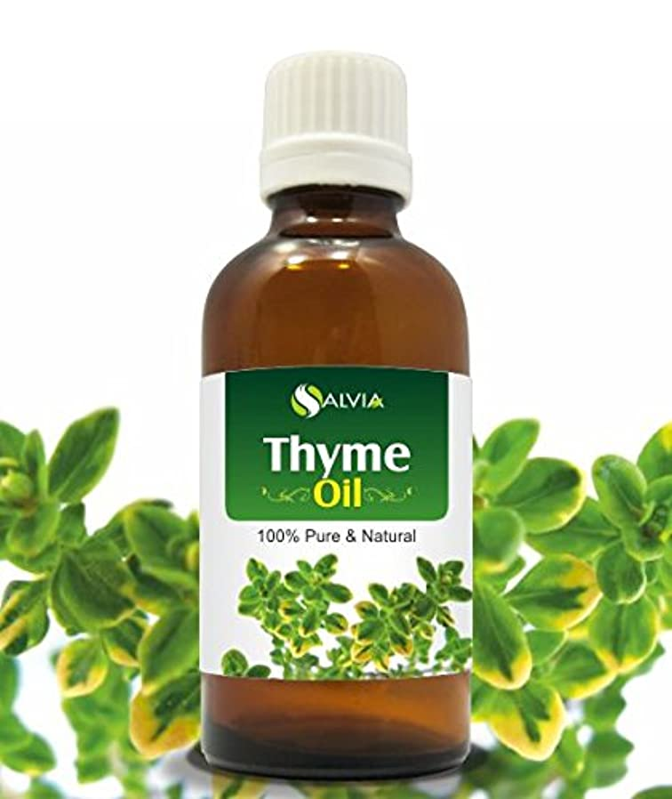 疎外謎モバイルTHYME OIL 100% NATURAL PURE UNDILUTED UNCUT ESSENTIAL OIL 50ML