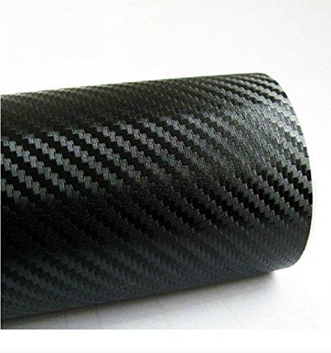 ホークスアイ(HAWK's EYE) 伸縮性 リアルカーボンシート 業務用 切り売り 152×30cm 曲面も楽々 黒 HE-0020