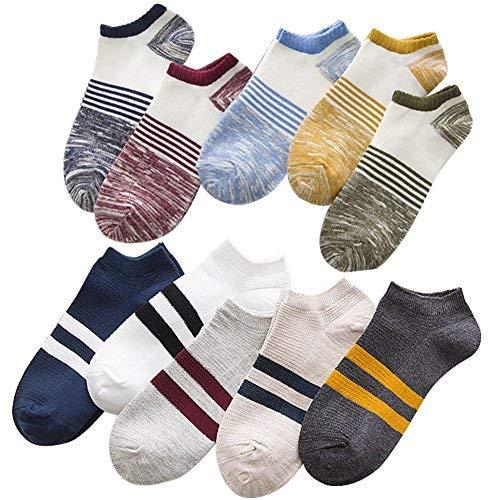靴下 おしゃれ くるぶし カジュアル ショート スニーカー ソックス セット 10足組 AYSKXL25-01