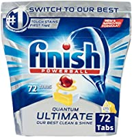 Finish Quantum Ultimate Dishwasher Tablets  - Lemon, 72 Pack