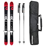 ROSSIGNOL(ロシニョール) ショートスキー 2016 SHORT 7 数量限定3点セット スキー + スキーケース + ストック rossignol 15-16 スキー 105cm